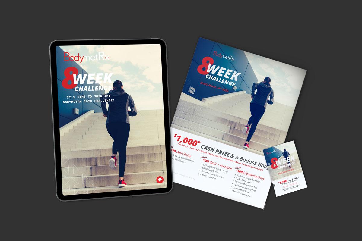 BodymetRx 8 Week Challenge Campaign