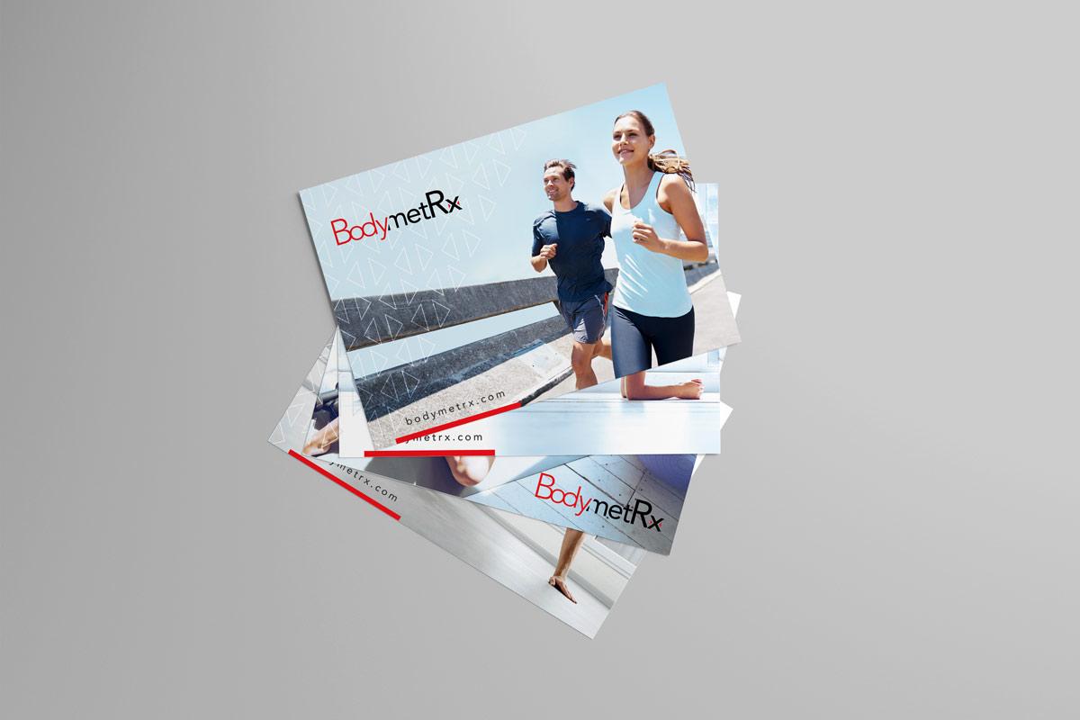 BodymetRx postcard